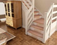 17 Best ideas about Wood Stair Railings on Pinterest ...