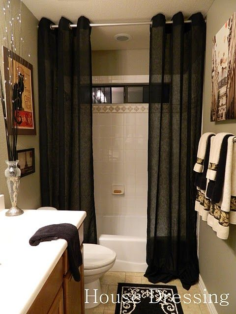 36 Best Images About Shower Curtain Drapes 2 Shower Curtains On