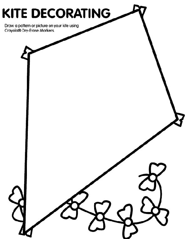 29 Best Kite Coloring Pages Images