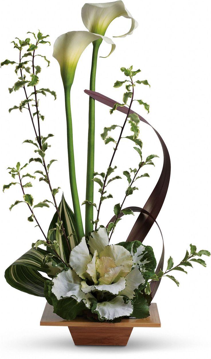 Kale Flower Arrangements