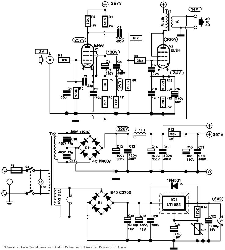 Vox Ac15 Schematic