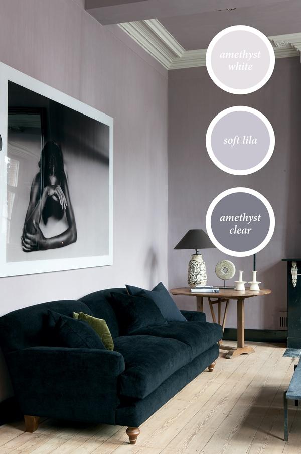 25 beste ideen over Paarse woonkamers op Pinterest