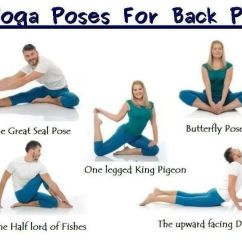 Best Chair For Sciatica Problems 2018 Suv With 2nd Row Captain Chairs Yoga Poses Back Pain | Spondylolisthesis Pinterest Poses, Health And Inspiration