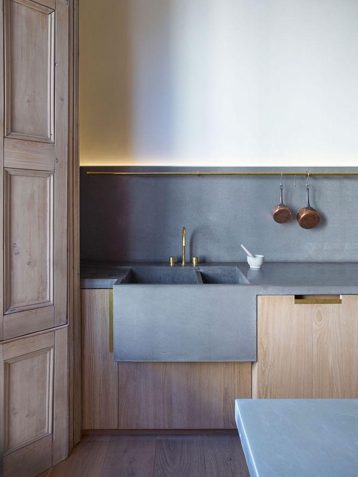 17 Best ideas about Concrete Kitchen on Pinterest