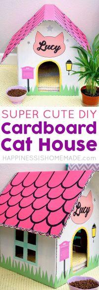 Best 25+ Cardboard Cat House ideas on Pinterest | House of ...