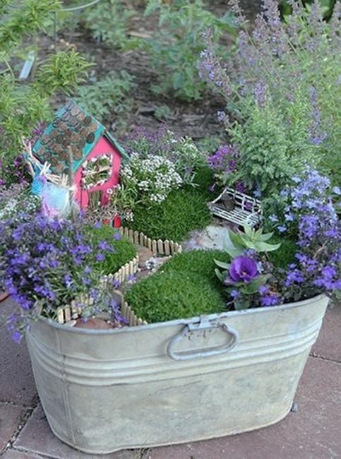 25 Best Ideas About Miniature Gardens On Pinterest Fairy Homes
