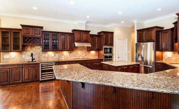 Love Love Love Dark Cabinets Maple Kitchen With Black And
