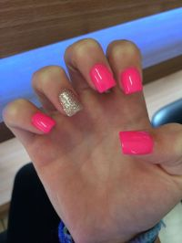 25+ best ideas about Short Square Acrylic Nails on ...