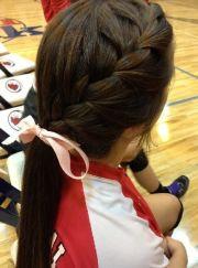 soccer hair