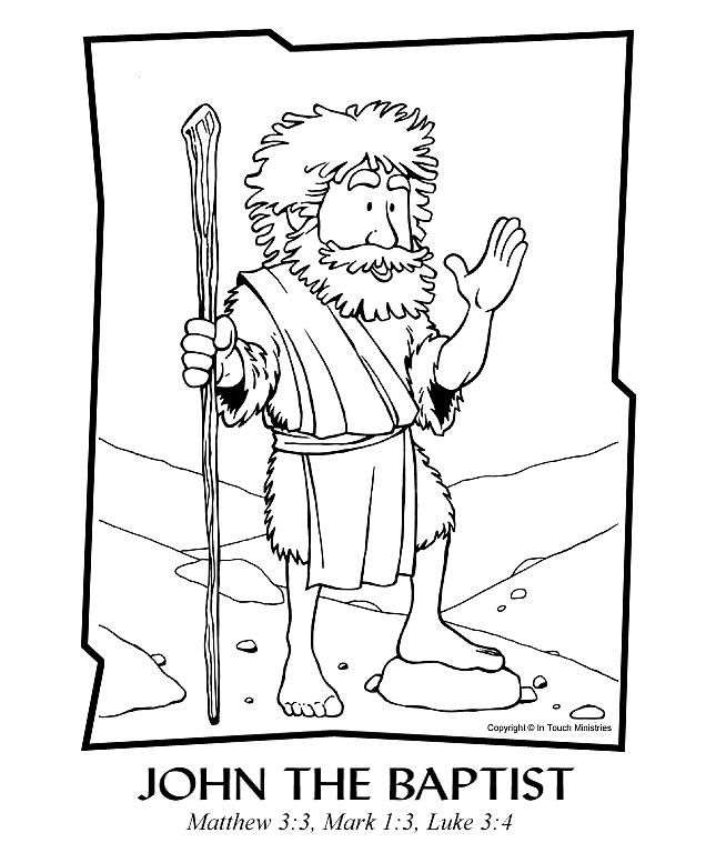 70 best images about Sunday School: John the Baptist on
