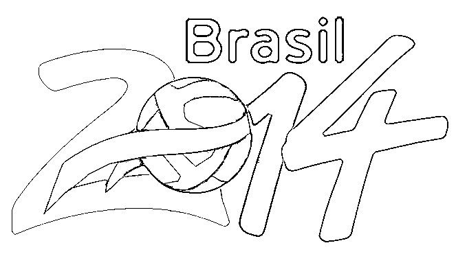 17 Best images about Soccer World Cup 2014 Coloring pages