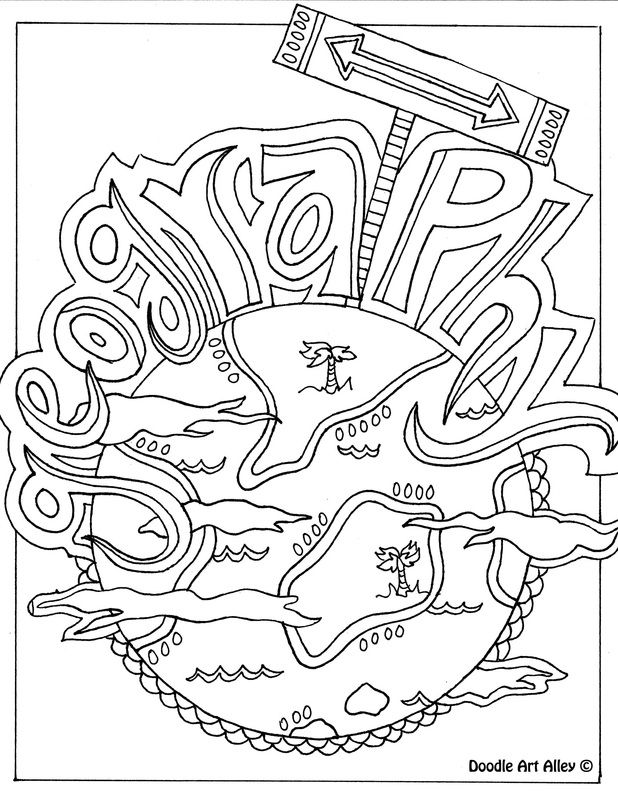 geography ~ plus other subjects colouring pages ~ great