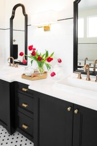 The 25+ best Black and white master bathroom ideas on