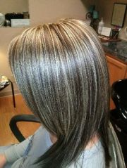 pix > gray highlights in brown