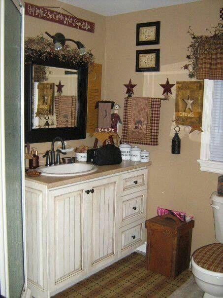 Best 20 Primitive bathroom decor ideas on Pinterest  Primitive bathrooms Primitive country