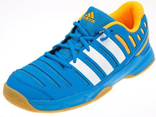 adidas court stabil handbaal jr chaussures handball bleu