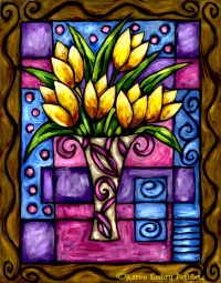 Glass Painting Designs - Bing Images | Vitray | Pinterest ...
