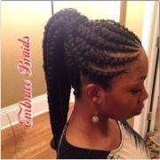 ghana braids ponytail - google