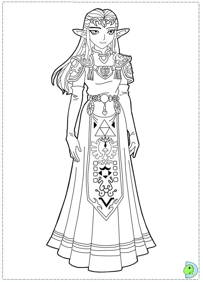 36 best images about zelda coloring pages on pinterest