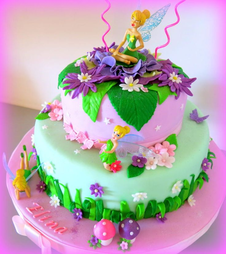 17 Best Images About Cakes Tinkerbell Fairies On
