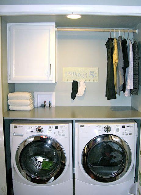Laundry Idea Small Room Rooms Closet Keys