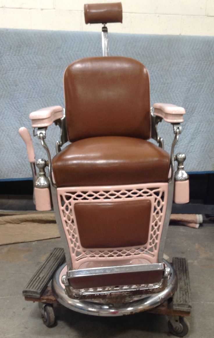 Awesome Vintage Emil J Paidar Barber Chair  March 2