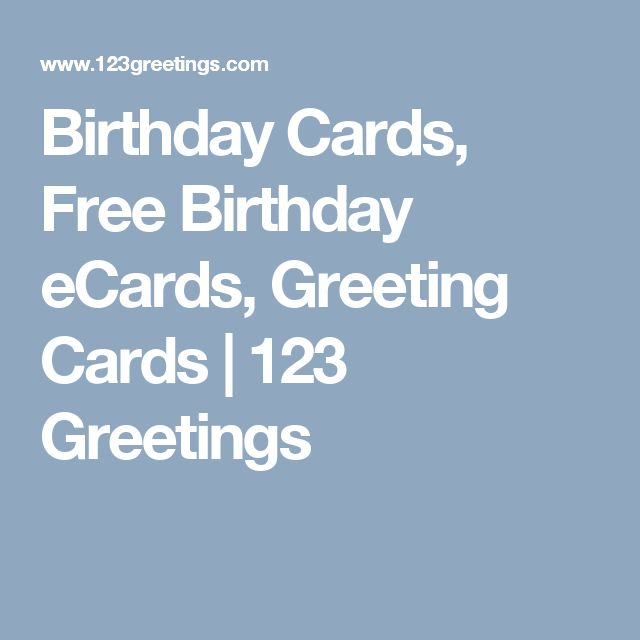 1000 Ideas About 123 Free Greeting Cards On Pinterest