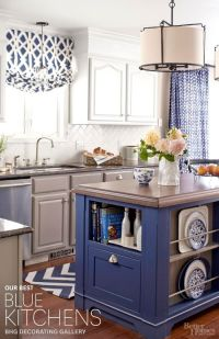 The best inspiration for blue kitchens from Better Homes ...