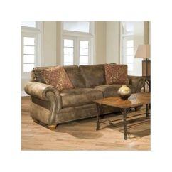 Broyhill Laramie Sofa Fabric Florida Corner Bed Sleeper | Brown, Microfiber And Sofas