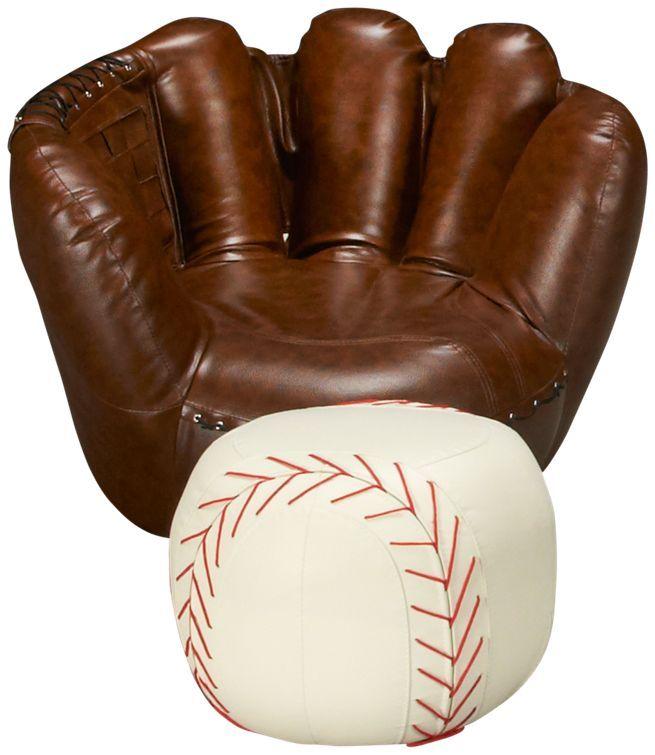 baseball glove chair  ottoman jordans furniture 29999