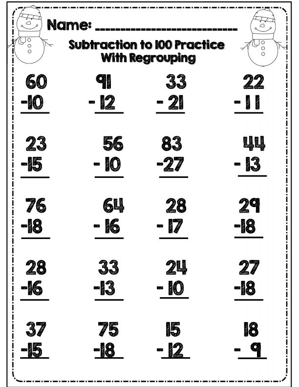 No Prep* Second Grade Common Core Winter Math & ELA Packet