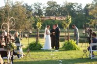 Intimate Outdoor Wedding in the Low Country, Flowers by ...