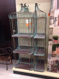 Hobby Lobby bird cage shelf   Nursery ideas   Pinterest ...