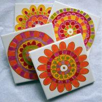 Best 20+ Paint ceramic tiles ideas on Pinterest