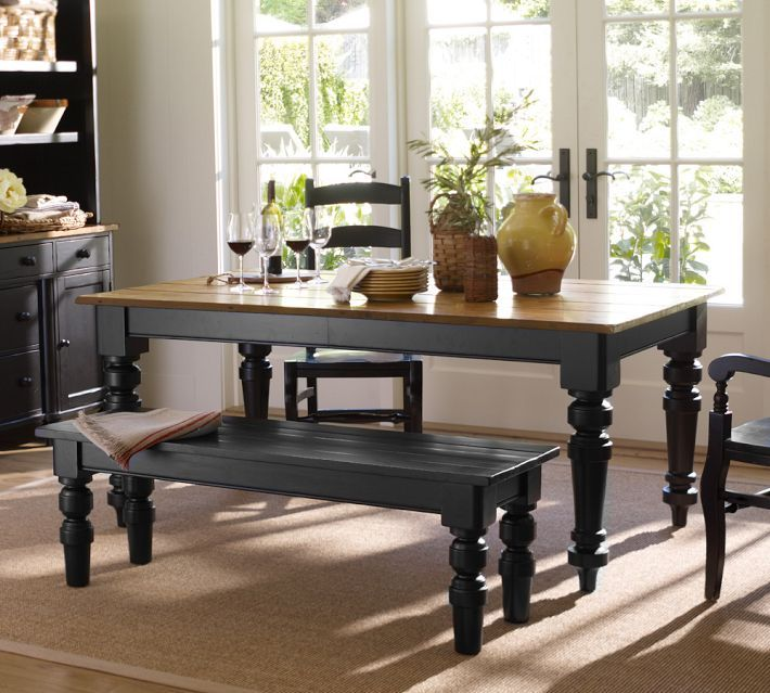 25 best ideas about Two tone table on Pinterest