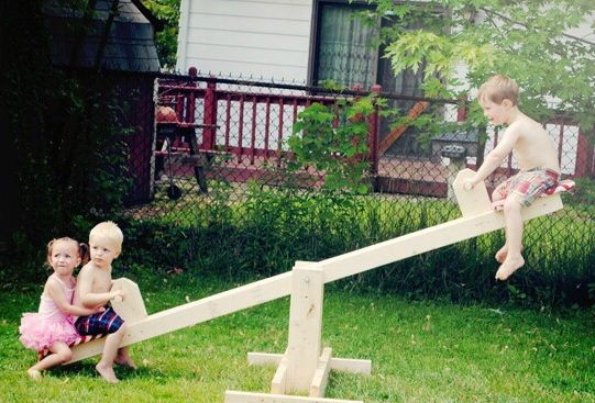 quotThe reason why the seesaw was made for two people is that