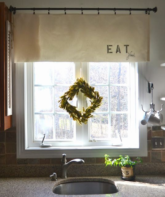 15 Best Ideas About Kitchen Window Valances On Pinterest