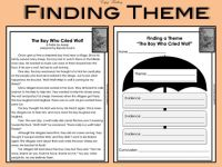 Identifying Theme Worksheets 5th Grade - find the meaning ...