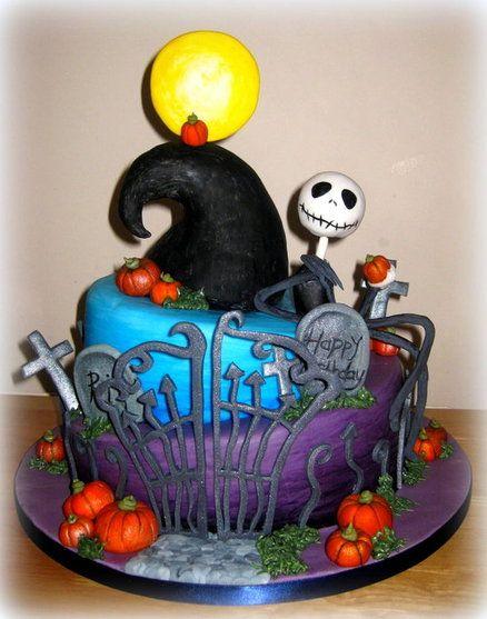 30 Best Images About Jack Skellington Cakes On Pinterest