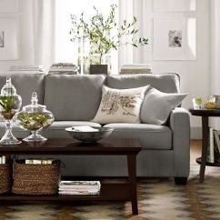 Ikea White Slipcover Sofa Living Rooms With Cream Leather Sofas Best 25+ Pottery Barn Ideas On Pinterest | ...