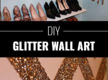 Best 25+ Glitter wall art ideas on Pinterest