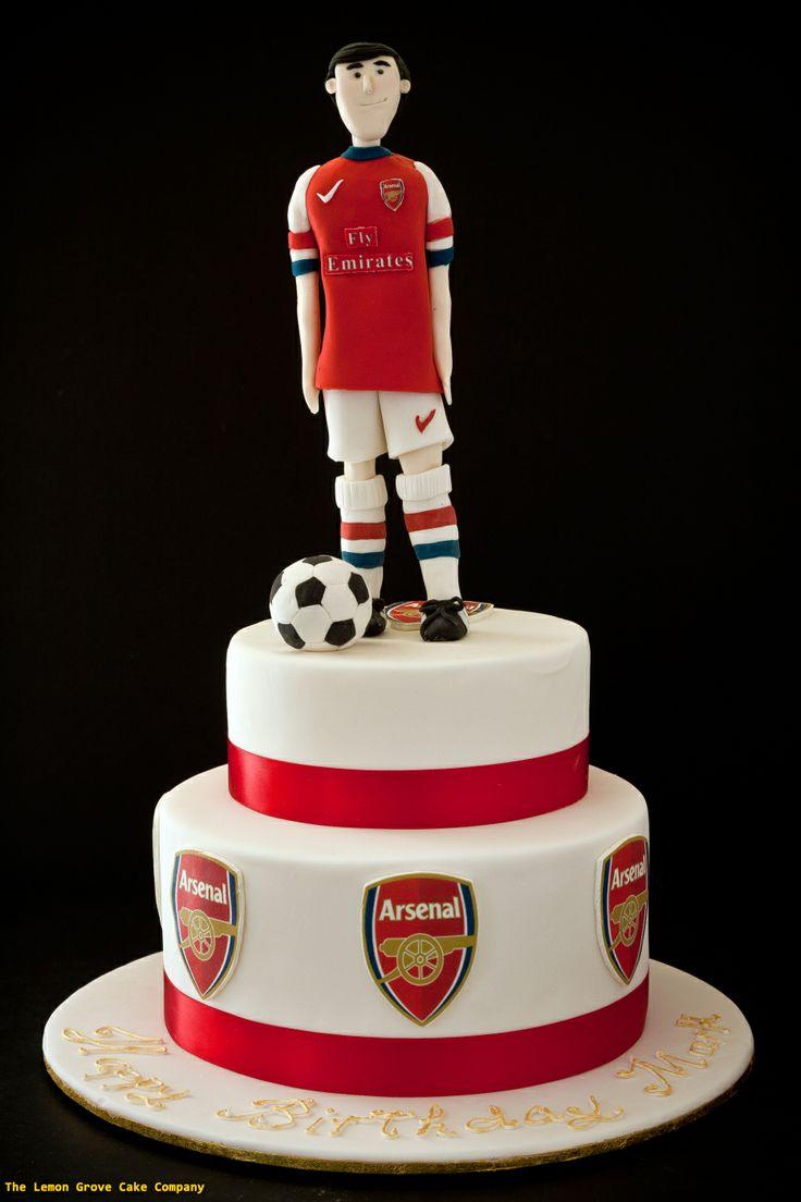 Arsenal Football Cake The Lemon Grove Cake Company