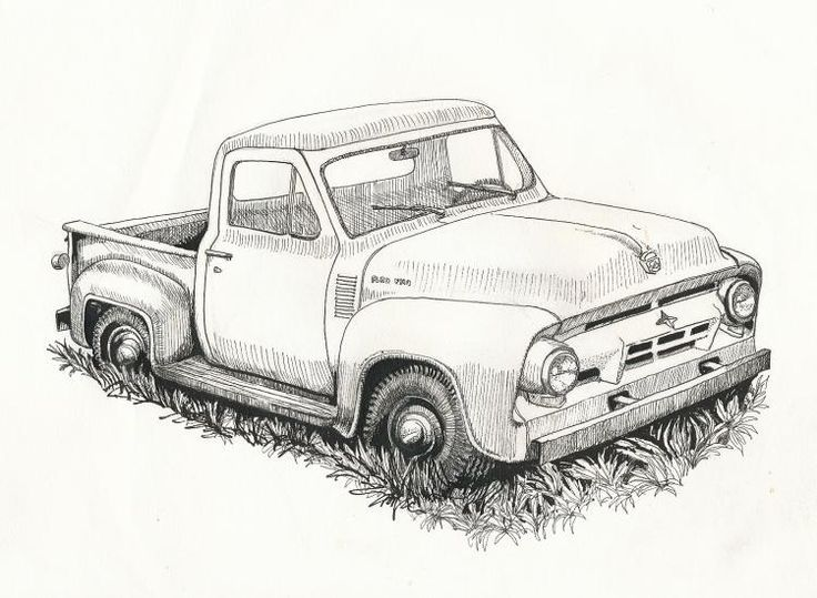 1954 ford pickup truck