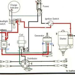 Vw Bug Wiring Diagram For Dune Buggy Lighting 2 Way Switching Ignition And Charging System | Baja Bugs Pinterest