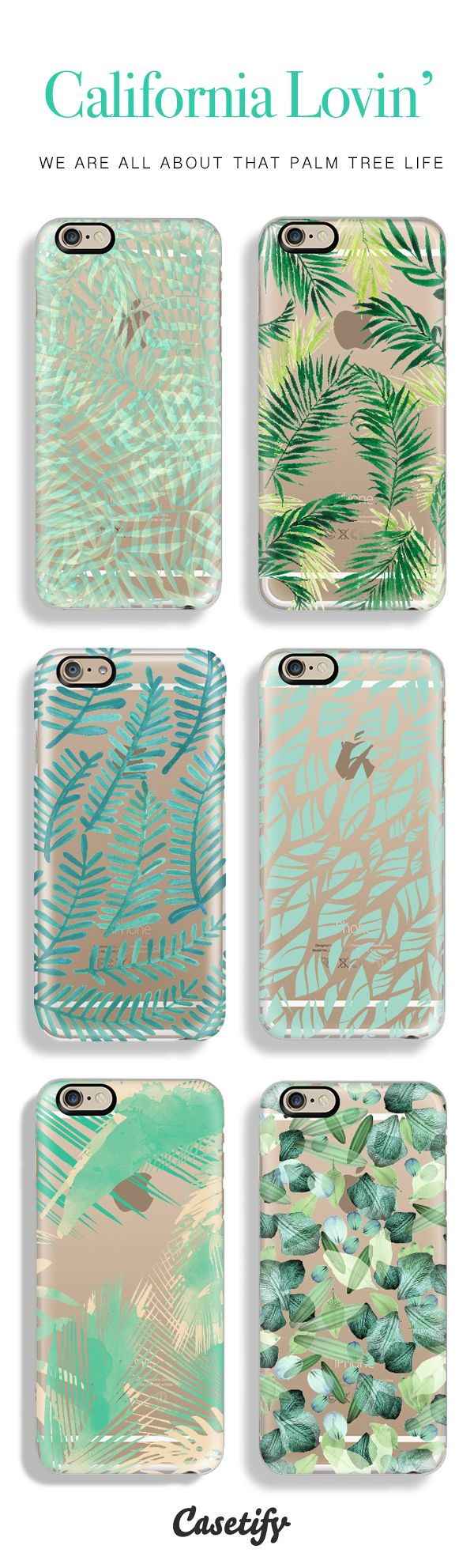 Top 6 palm tree iPhone 6 protective phone cases | Click through to see more iPhone 6 phone case ideas  www.casetify.com/…
