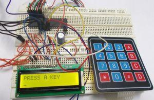 4x4 Keypad Interfacing with AVR Microcontroller (ATmega32