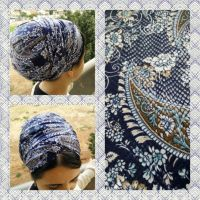 Leatherette,hair wrap head scarf,israel clothing,snood ...
