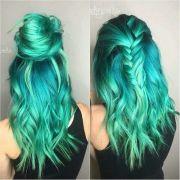 ideas teal hair