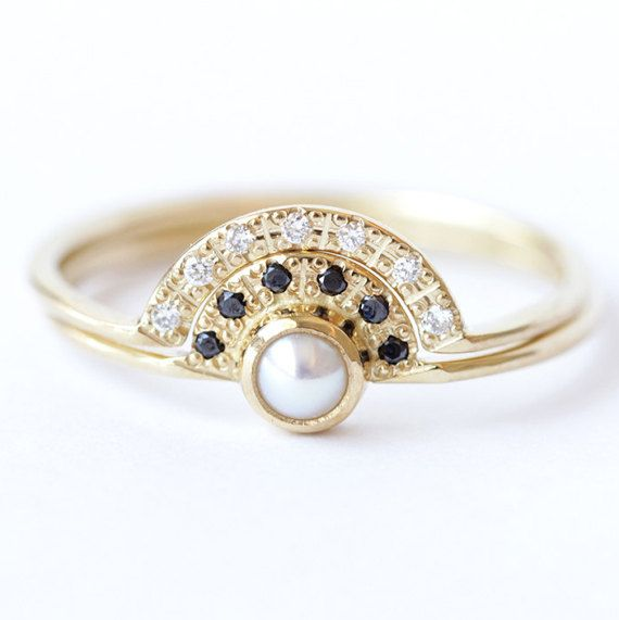 17 Best ideas about Alternative Engagement Rings on