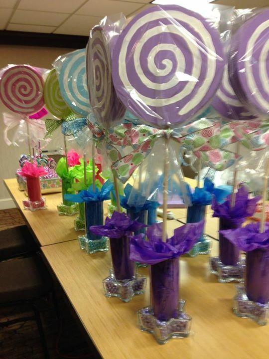 25 Best Ideas About Lollipop Centerpiece On Pinterest
